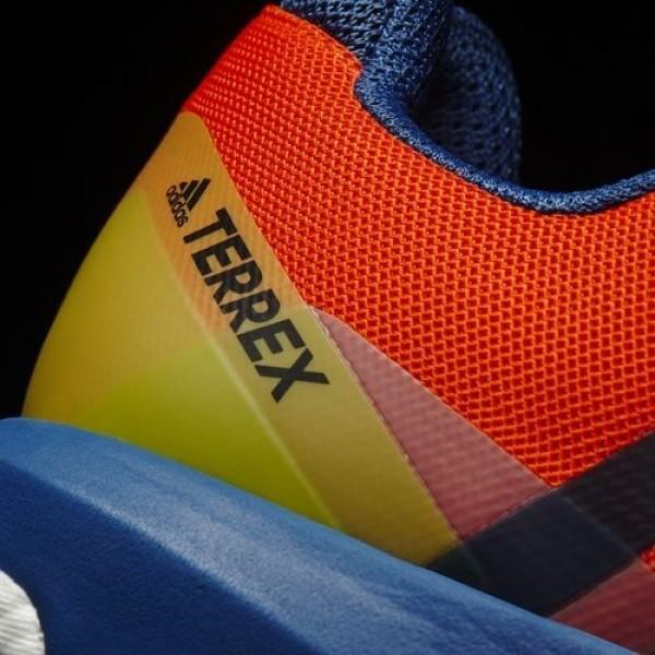 Adidas Terrex Agravic Homme Energy/Core Blue/Core Black Chaussures NO: BB0965
