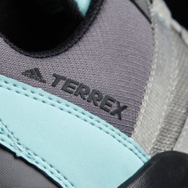 Adidas Ax2R Gtx Femme Medium Grey Heather Solid Grey/Solid Grey/Easy Mint TERREX Chaussures NO: BB1991