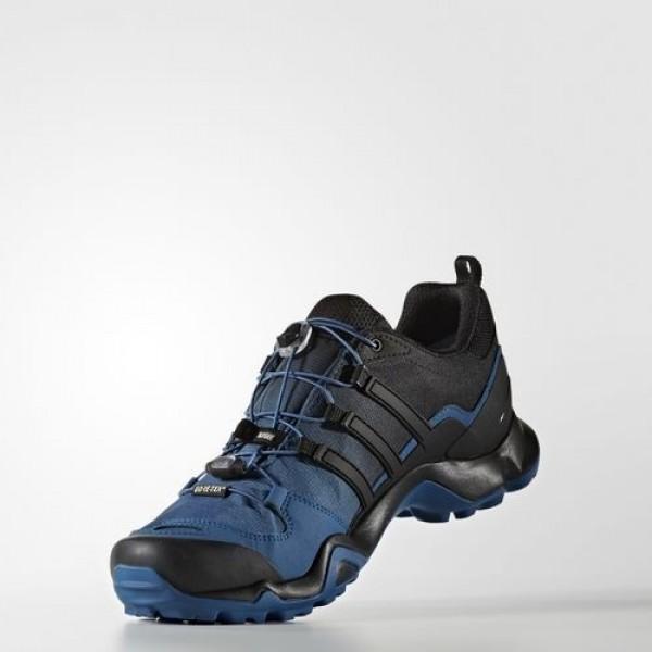 Adidas Terrex Swift R Gtx Homme Black/Navy Blue Outdoor Chaussures NO: