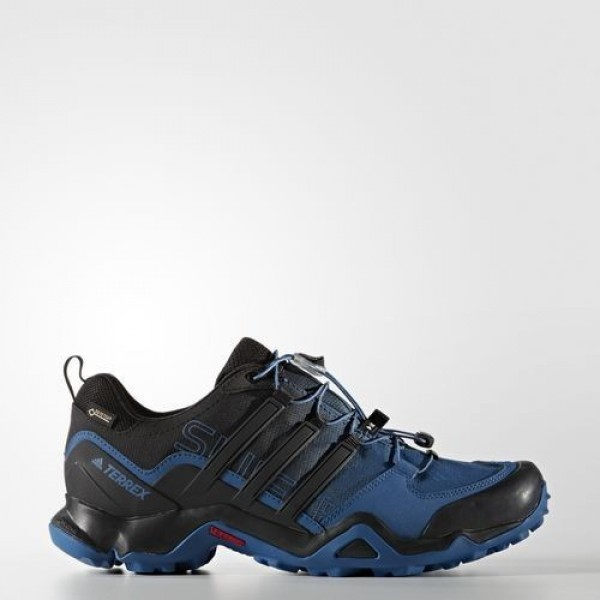 Adidas Terrex Swift R Gtx Homme Black/Navy Blue Ou...