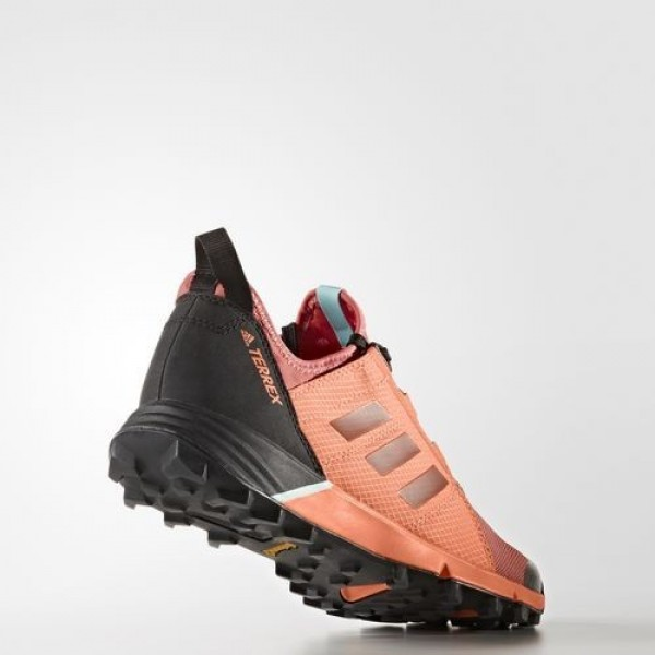 Adidas Terrex Agravic Speed Femme Tactile Pink/Core Black/Easy Orange Chaussures NO: BB1962
