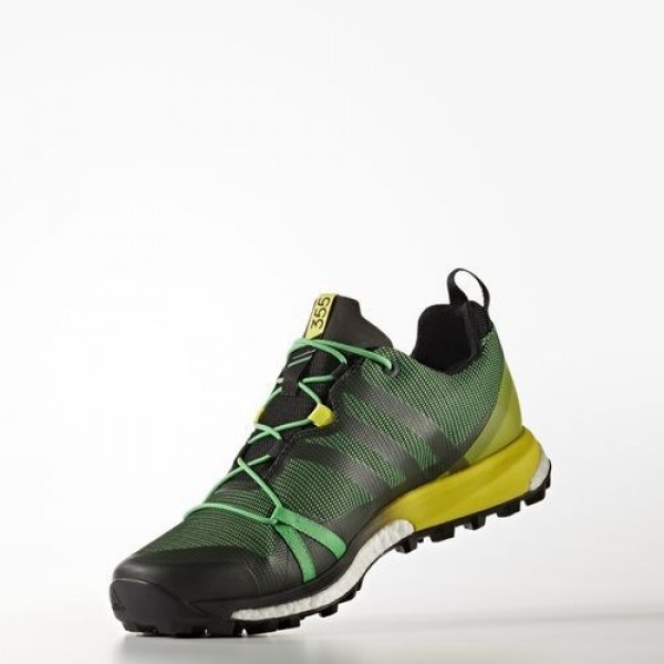 Adidas Terrex Agravic Gtx Homme Energy Green/Core Black/Bright Yellow Chaussures NO: BB0959