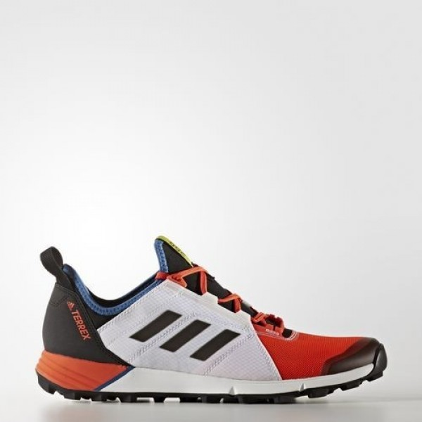 Adidas Terrex Agravic Speed Homme Energy/Core Black/Core Blue Chaussures NO: BB6024
