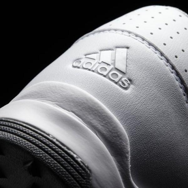 Adidas 360 Traxion Wd Homme Footwear White/Silver Metallic/Dark Silver Metallic Golf Chaussures NO: F33432