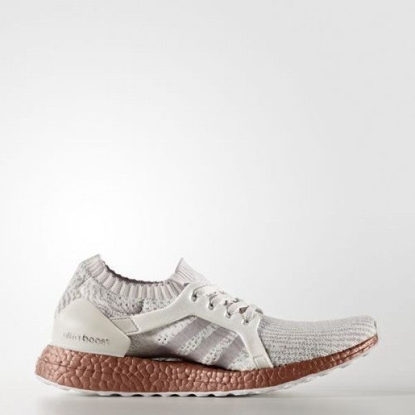 Adidas Ultra Boost X Limited-Edition Femme Crystal White/Ice Purple/Tech Rust Metallic Running Chaussures NO: BB1973
