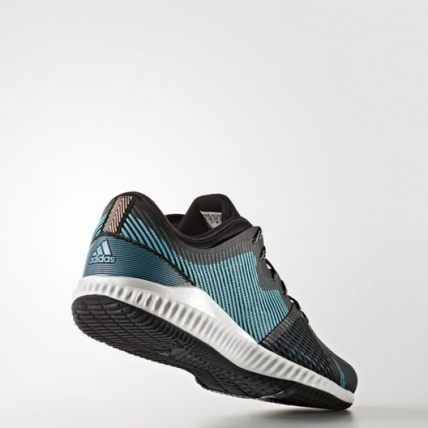 Adidas Crazytrain Pro Femme Core Black/Silver Metallic/Energy Blue Training Chaussures NO: BB1507