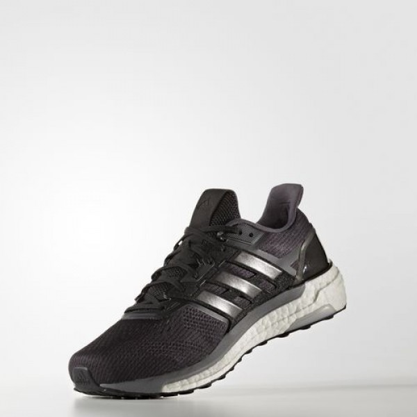 Adidas Supernova Homme Core Black/Iron Metallic/Grey Running Chaussures NO: BB6035