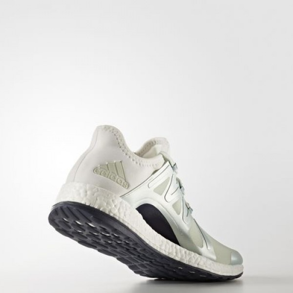 Adidas Pure Boost Xpose Femme Linen Green/Vapour Steel/Crystal White Running Chaussures NO: BB1732