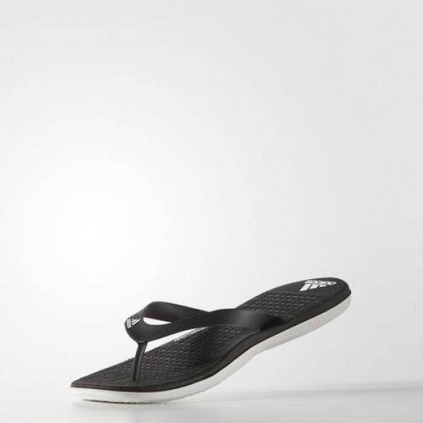 Adidas Tong Eezay Cloudfoam Femme Core Black/White Natation Chaussures NO: S78119