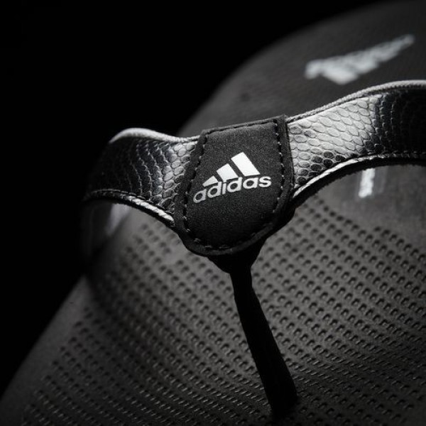 Adidas Tong Supercloud Plus Femme Core Black/Mid Grey/Silver Metallic Lifestyle Chaussures NO: B25342