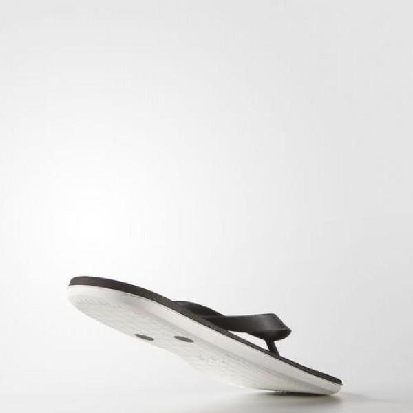 Adidas Tong Eezay Cloudfoam Homme Core Black/Footwear White Natation Chaussures NO: AQ6117