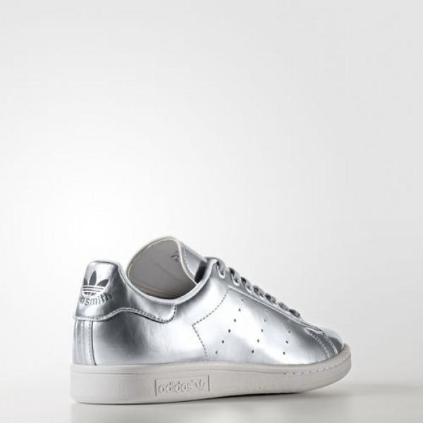 Adidas Stan Smith Femme Silver Metallic/Footwear White Originals Chaussures NO: CG3679