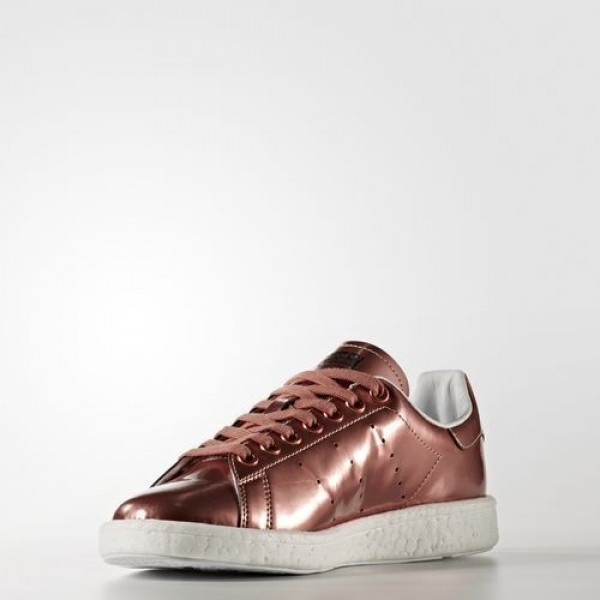 Adidas Stan Smith Boost Femme Copper Metallic/Footwear White Originals Chaussures NO: BB0107