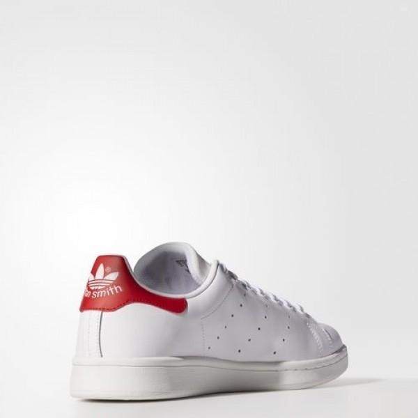 Adidas Stan Smith Homme Footwear White/Collegiate Red Originals Chaussures NO: M20326