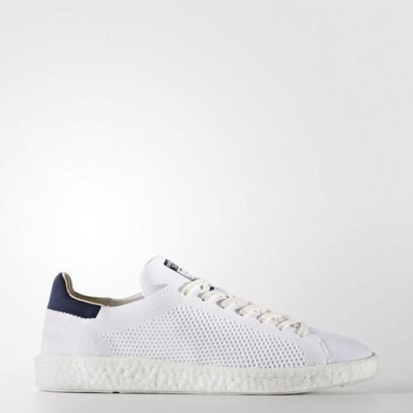 Adidas Stan Smith Boost Primeknit Homme Footwear White/Collegiate Navy Originals Chaussures NO: BB0012