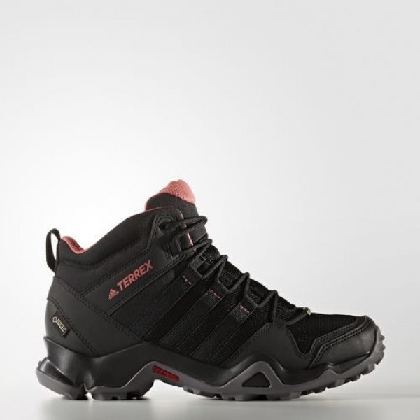 Adidas Ax2R Mid Gtx Femme Core Black/Tactile Pink ...