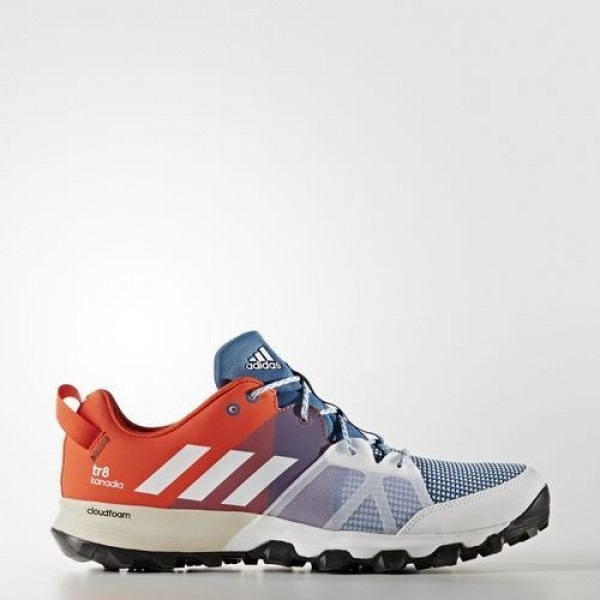 Adidas Kanadia 8 Trail Homme Core Blue/Footwear Wh...