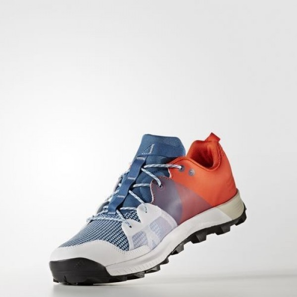 Adidas Kanadia 8 Trail Homme Core Blue/Footwear White/Energy Outdoor Chaussures NO: BB4414