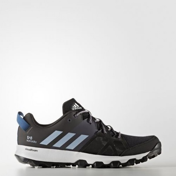 Adidas Kanadia 8 Trail Homme Core Black/Easy Blue/Trace Grey Outdoor Chaussures NO: BB4416