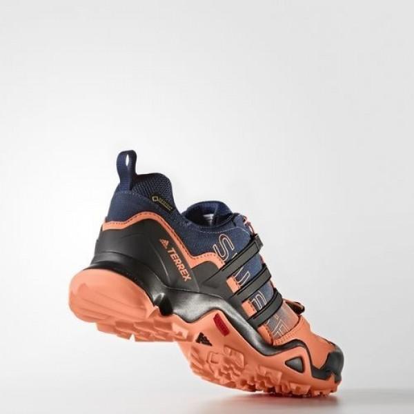 Adidas Terrex Swift R Gtx Femme Easy Orange/Core Black/Mystery Blue Chaussures NO: BB4637