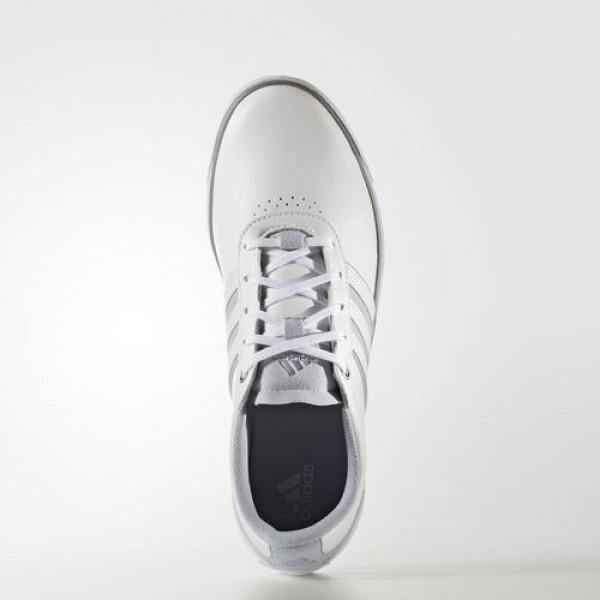 Adidas Adicross V Femme Footwear White/Clear Grey/Iron Metallic Golf Chaussures NO: Q44686