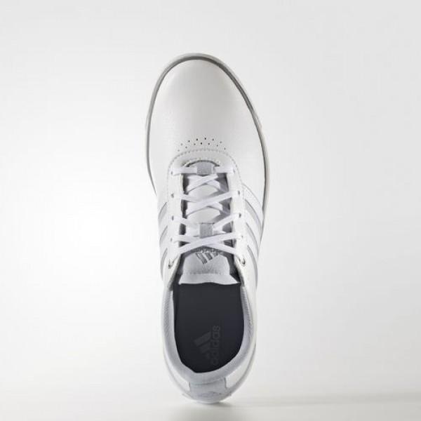 Adidas Adicross V Femme Footwear White/Clear Grey/Iron Metallic Golf Chaussures NO: Q44686
