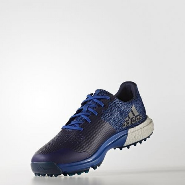 Adidas Adipower S Boost 3 Homme Collegiate Royal/Footwear White/Dark Slate Golf Chaussures NO: Q44779