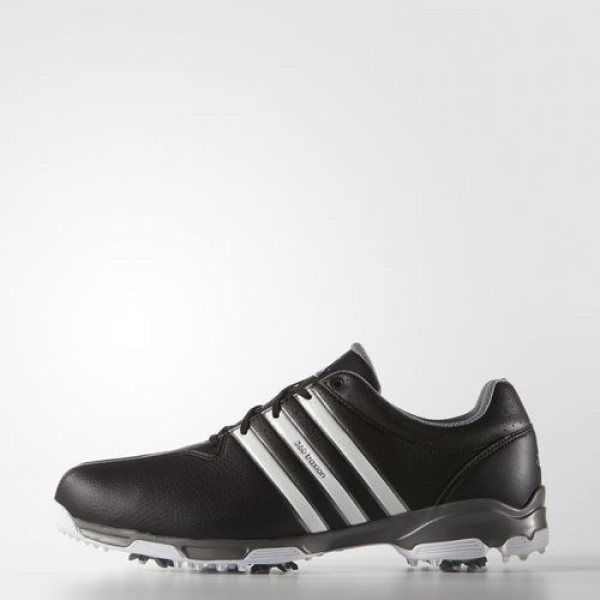 Adidas 360 Traxion Wd Homme Core Black/Footwear White/Iron Metallic Golf Chaussures NO: F33433