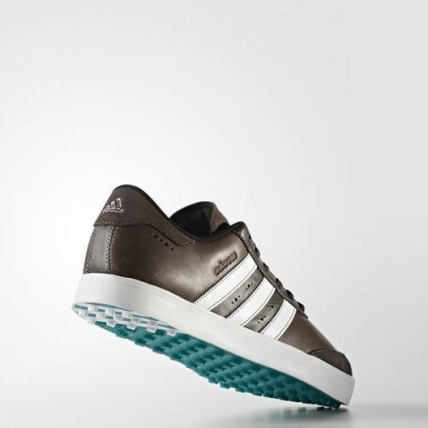Adidas Adicross V Homme Brown/Footwear White/EQT Green Golf Chaussures NO: F33393