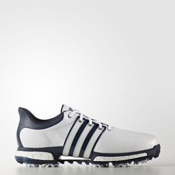 Adidas Tour360 Boost Homme Footwear White/Dark Sla...