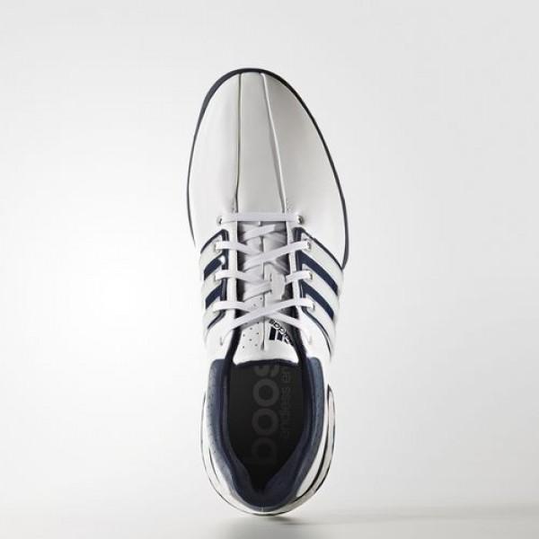 Adidas Tour360 Boost Homme Footwear White/Dark Slate/Silver Metallic Golf Chaussures NO: Q44822