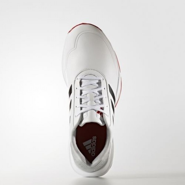 Adidas Adipower Bounce Wide Homme Footwear White/Core Black/Scarlet Golf Chaussures NO: Q44788