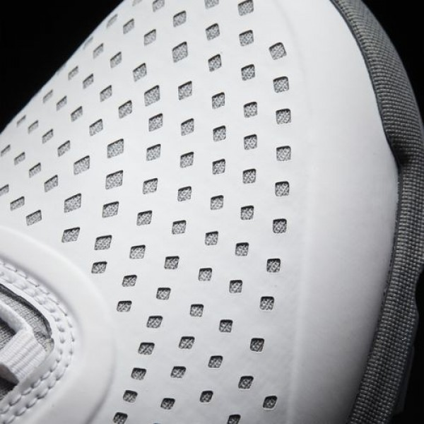 Adidas Adipure Sport Femme Light Grey Heather/Easy Coral/Dark Silver Metallic Golf Chaussures NO: Q44739