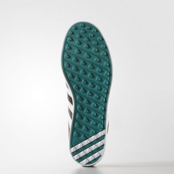 Adidas Adicross V Wd Homme Brown/Footwear White/EQT Green Golf Chaussures NO: F33428