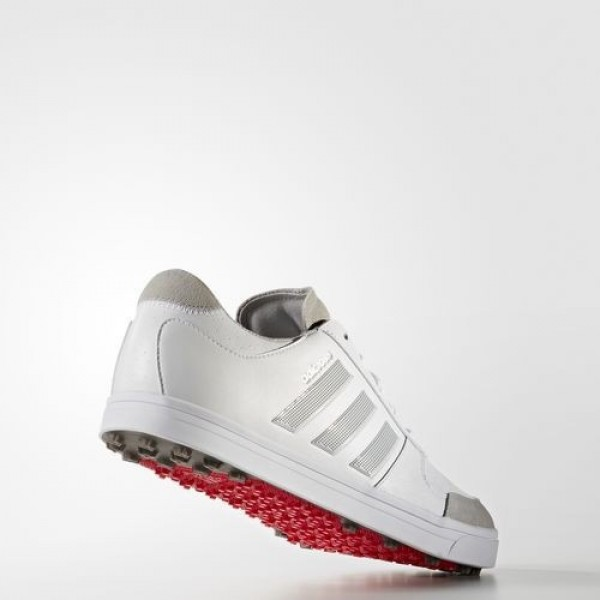 Adidas Adicross Gripmore 2.0 Homme Footwear White/Clear Onix/Ray Red Golf Chaussures NO: F33460