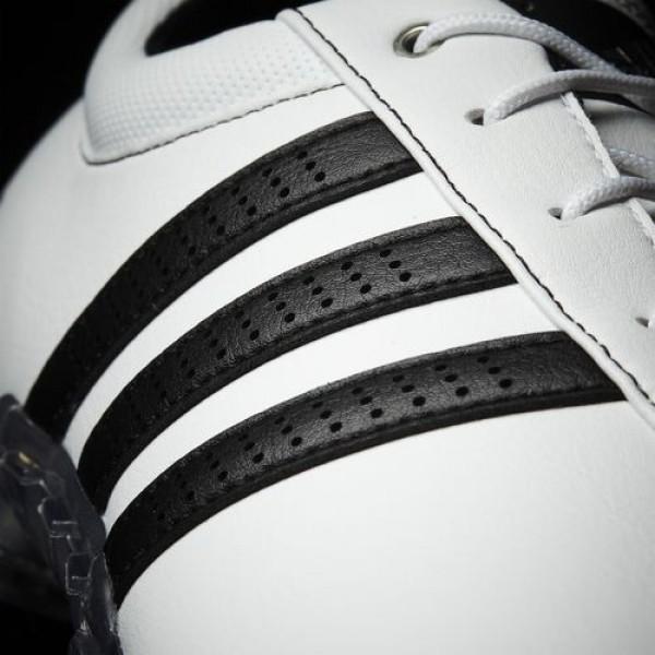Adidas Adipure Flex Wide Homme Footwear White/Core Black/Silver Metallic Golf Chaussures NO: F33456