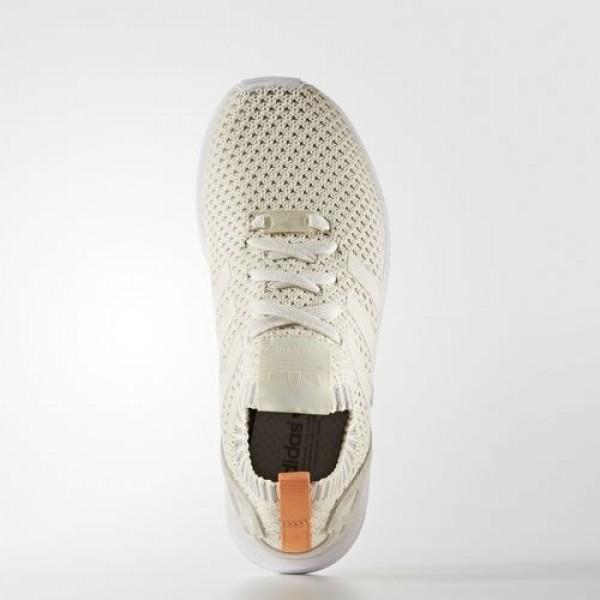 Adidas Zx Flux Femme Chalk White/Clear Granite Originals Chaussures NO: BA7141