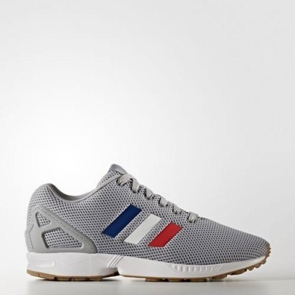 Adidas Zx Flux Femme Mid Grey/Footwear White/Core Red Originals Chaussures NO: BB2768