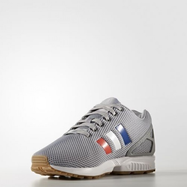 Adidas Zx Flux Homme Mid Grey/Footwear White/Core Red Originals Chaussures NO: BB2768