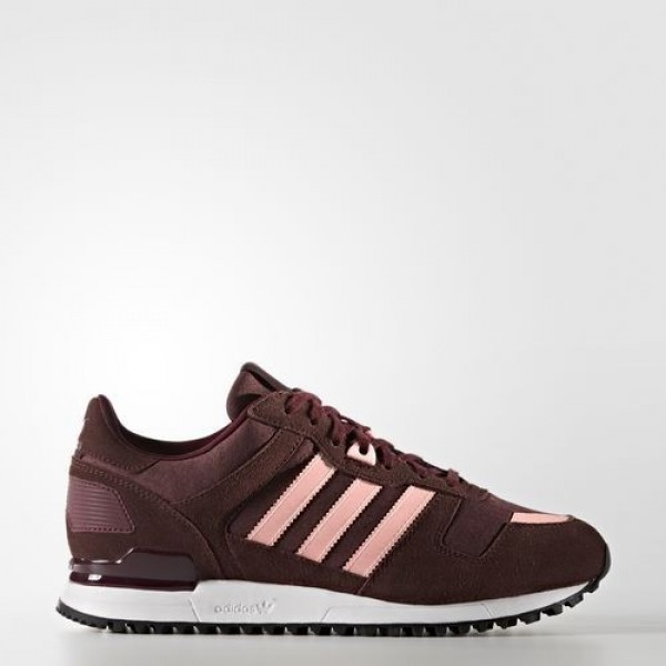 Adidas Zx 700 Femme Maroon/Haze Coral/Night Red Or...