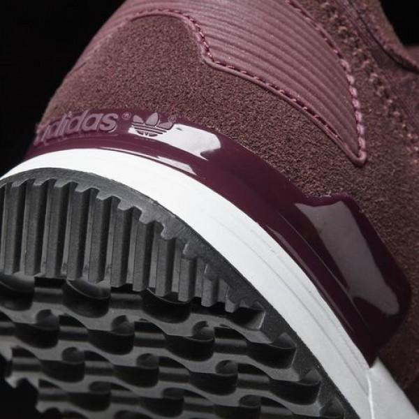 Adidas Zx 700 Femme Maroon/Haze Coral/Night Red Originals Chaussures NO: BA9979
