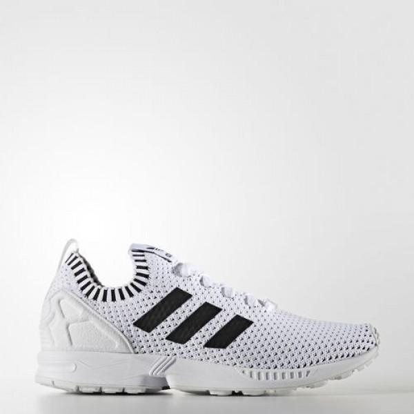 Adidas Zx Flux Primeknit Homme Footwear White/Core...