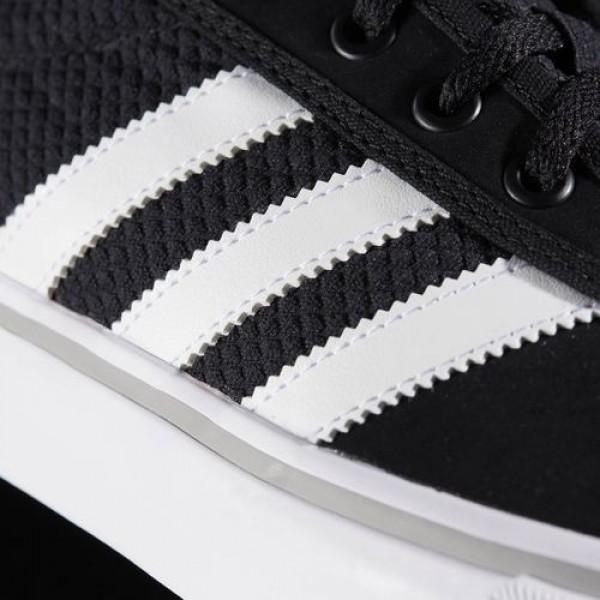 Adidas Adiease Homme Core Black/Footwear White/Medium Grey Heather Solid Grey Originals Chaussures NO: BB8486