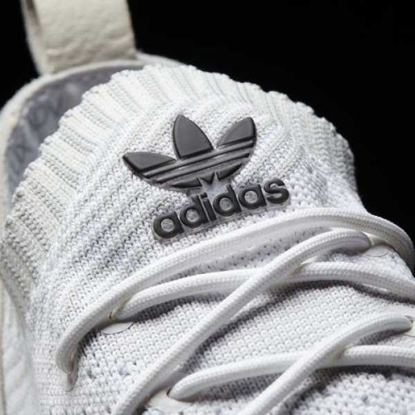 Adidas Zx Flux Adv Virtue Primeknit Femme Footwear White/Clear Grey/Core Black Originals Chaussures NO: BB2306