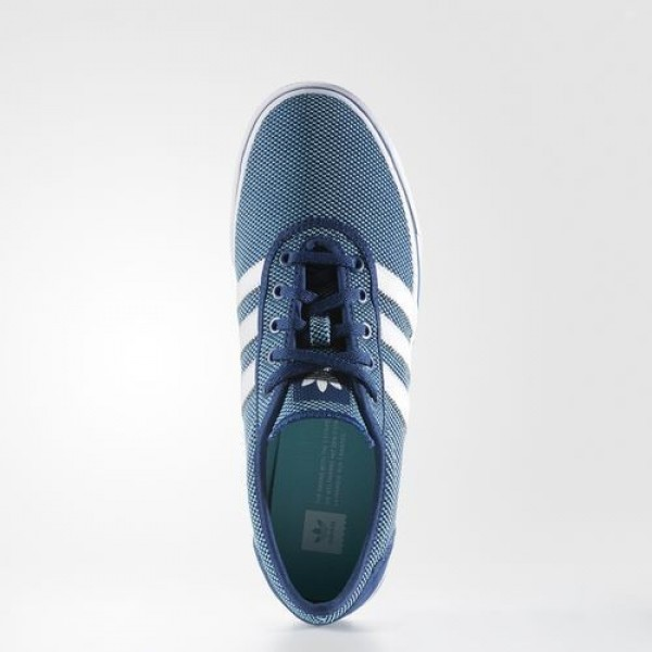 Adidas Adiease Homme Mystery Blue/Footwear White/Easy Mint Originals Chaussures NO: BB8488
