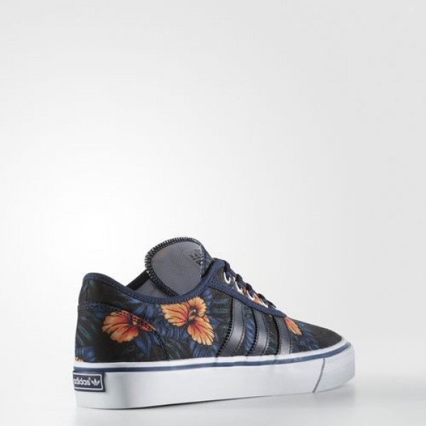 Adidas Adiease Homme Night Indigo/Footwear White/Silver Metallic Originals Chaussures NO: BB8472