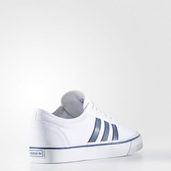 Adidas Adiease Homme Footwear White/Mystery Blue/Gum Originals Chaussures NO: BB8483