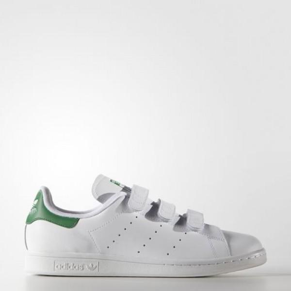 Adidas Stan Smith Homme Footwear White/Green Origi...