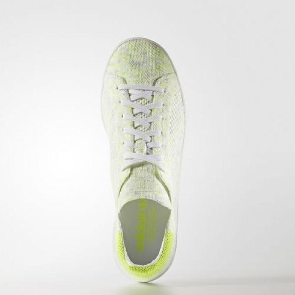 Adidas Stan Smith Primeknit Homme Footwear White/Solar Yellow Originals Chaussures NO: BA7439