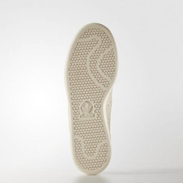 Adidas Stan Smith Homme Chalk White/Matte Gold Originals Chaussures NO: BA7441